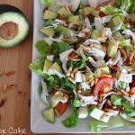 Hühnchen Avocado Salat