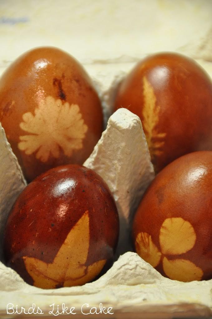 ostern eier nat rlich f rben birds like cake baking enjoying sharing. Black Bedroom Furniture Sets. Home Design Ideas