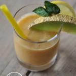 So schmeckt der Sommer: Melone Aprikose Smoothie
