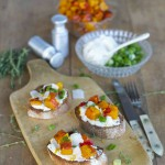 My Cooking Love Affair: Kürbis-Bruschetta mit Meerettichcreme