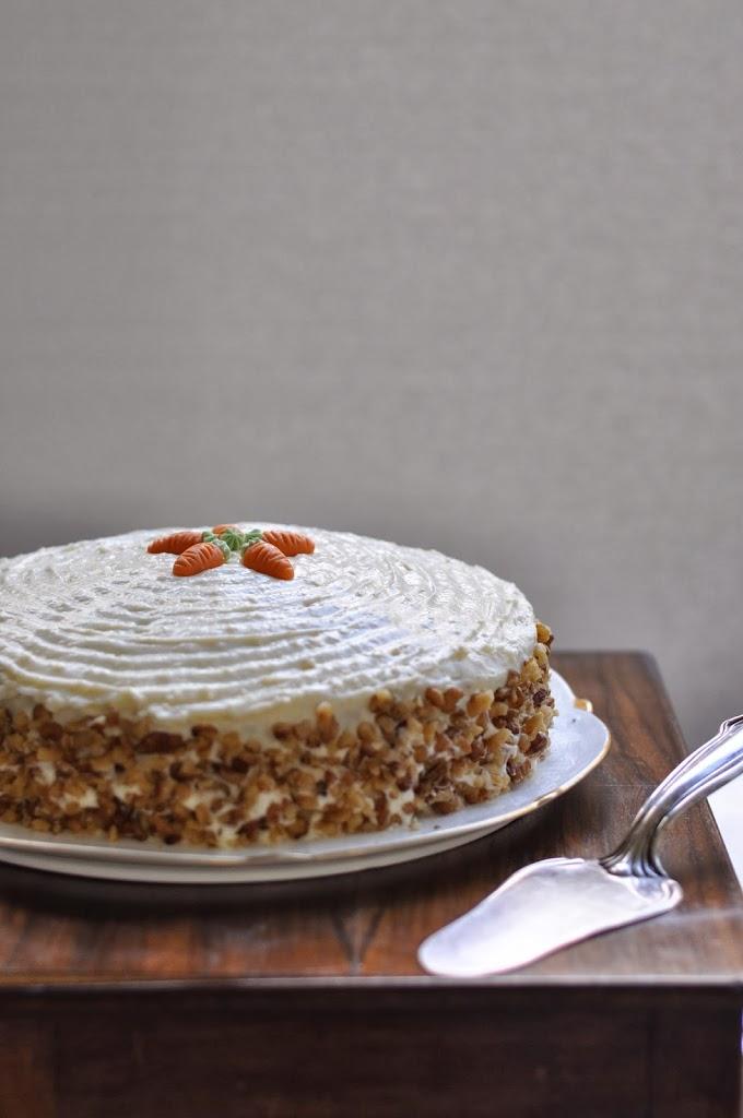 Carrot Cake Macadamia Zimt Muskat Ingwer Karotten Birds Like Cake
