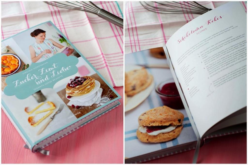 Schokoladen Kokos Scones Buch Zucker Zimt und Liebe Birds Like Cake