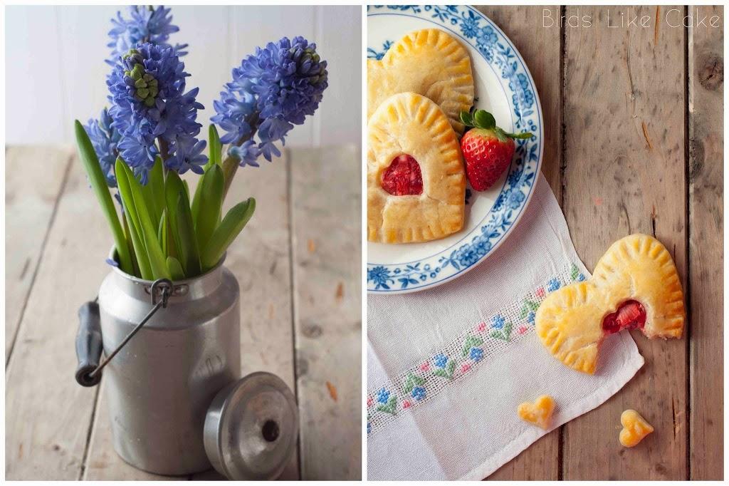 Baking Backen Backblog Foodblog Erdbeeren einfach Rezept recipe Springtime Frühling Handpies