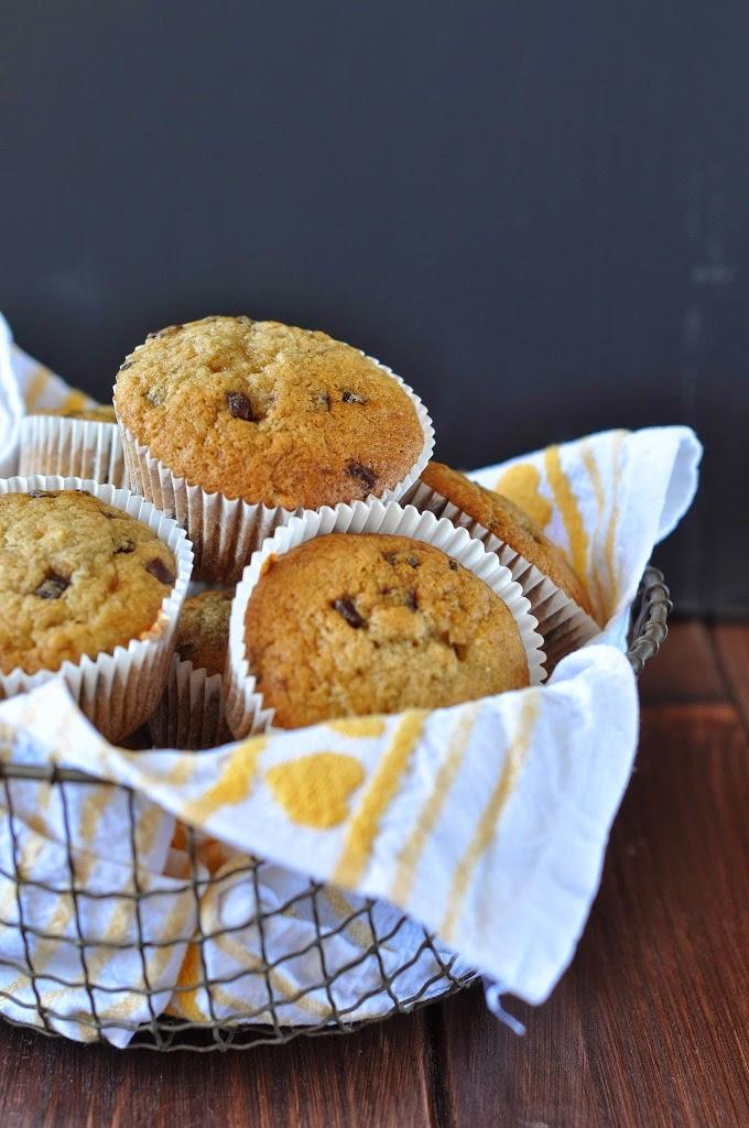 Bananen Schokolade Muffins backen lecker einfach