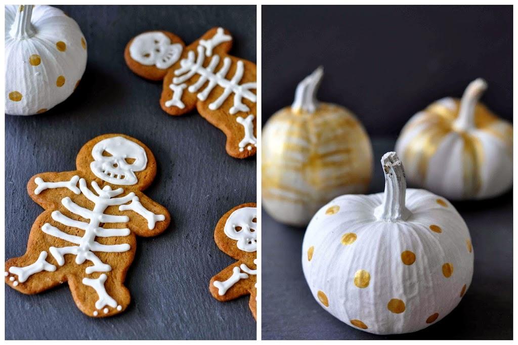 knochen backen halloween