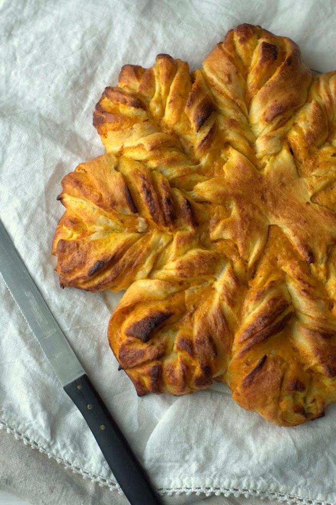 Hefe Kürbis Herbst Rezept Backen Recipe Fall easy baking