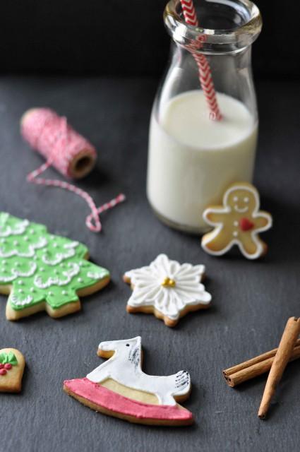 Birds Like Cake: Christmas Cookies with Royal Icing