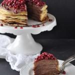 Aller Guten Dinge sind drei: Crêpe Torte