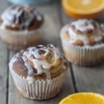 Süße Orangen Schnecken