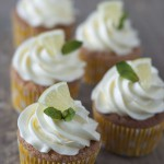 Geburtstagsbrunch 2015: Zitrone Cupcakes