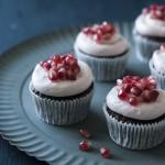 Granatapfel Schoko Cupcakes