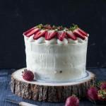 Erdbeer Törtchen mit weißer Schokolade