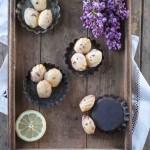 Zitronen Lavendel Madeleines
