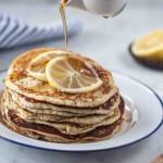 Zitrone Ricotta Mohn Pancakes