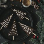 Cappuccino Christmastree Brownies