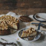 Mandel Karamell Cheesecake