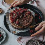 •Ad• Raw Cake mit Himbeeren
