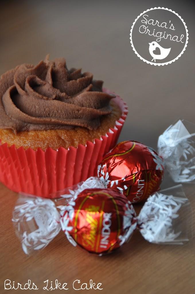 Lindor Cupcakes Birds Like Cake Baking Enjoying Sharing